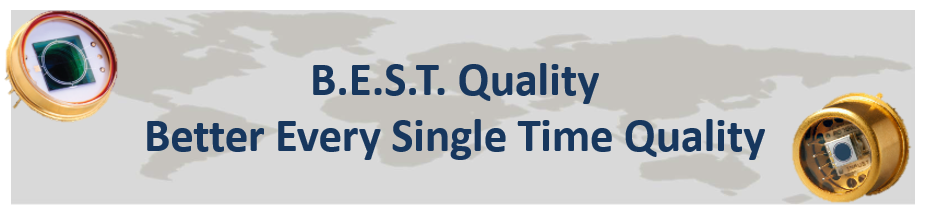 B.E.S.T. Quality; Better Every Single Time Quality